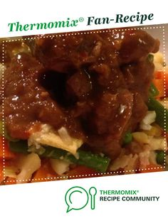 Mongolian beef by thermobrooke. A Thermomix <sup>®</sup> recipe in the category Main dishes - meat on www.recipecommunity.com.au, the Thermomix <sup>®</sup> Community.