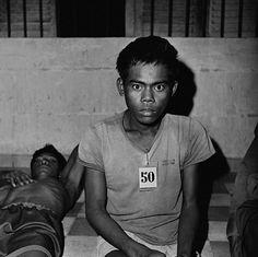 Unidentified prisoners in #Cambodia (1975-79) | © Goksin Sipahioglu