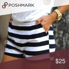 🎉HOST PICK!🎉Striped Shorts Size 7, brand for exp. Asos Dresses Mini