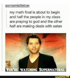 #tumblr, #supernatural, #school