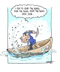This boat has stopped. #auspol #libspill #Abbott
