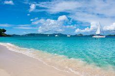 Honeymoon Bay, St John Island by candisfl, via Flickr