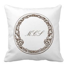 Rest your head on one of Zazzle's Art Nouveau decorative & custom throw pillows. Photo To Art, Monogram Pillows, Shopping Day, French Chic, Don't Give Up, Beautiful Bedrooms, Decorative Throw Pillows, Wall Art Decor, Black Friday