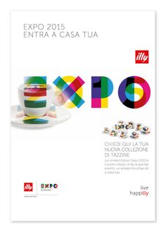 illy realizza l'edizione limitata Expo 2015. La Limited Edition Expo 2015 è il primo tangibile tributo di illy all'evento: un'anteprima per i collezionisti di oggetti esclusivi firmati illy. Giotto Enterprise ha seguito la realizzazione dei decori, il su…