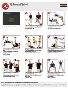 Workout of the Week:   15 Minute Labor Day Workout