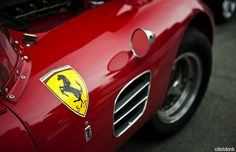 Great angle. Have always loved the Scuderia Ferrari shield.