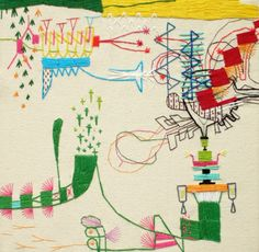 TAKASHI IWASAKI - EMBROIDERY ART