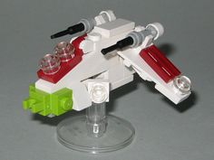 MINI Republic Gunship LEGO Build instructions by Christopher Deck