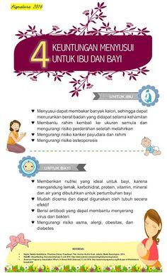 4 Keuntungan Menyusui Untuk Ibu dan Bayi - Infografis Kesehatan