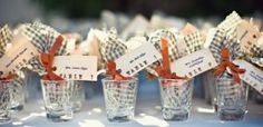 How to display shot glasses..great as 21st birthday favors