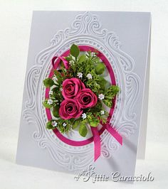 Rose Floral Spray by kittie747 - Cards and Paper Crafts at Splitcoaststampers