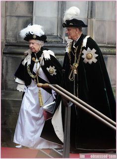 Regal, but one of those occasions where the tradition behind the hat is inexplicable.