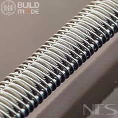 Beautiful Staple Staggerton from @nesquibel Texas, USA ------------------------------ Staple Staggerton #WirePorn.  8x .5N80 ribbon staggered in a 36/44N80 Clapton, fused with 36gN80 to 2x 26gKPN80 rails.  OC: @Pr0bez ------------------------------- #TeamLondonsFogg #Kegglife #Build_Mode #CoilCraft #StraightDrippin #Vape #CoilPorn #Coils #Clapton #CleanBuilds #Clapton #VapePorn #CoilArt #Vapelyfe #subohm #CoilHead #coilsmith  #vapepics #CoilHead @CoilPorn @VapePorn @CleanBuilds…