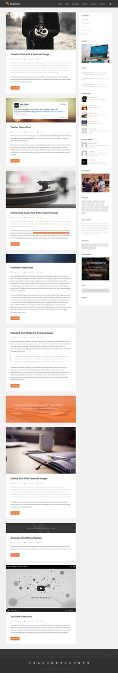 SaladMag - Responsive WordPress Magazine Theme | Wordpress magazine ...