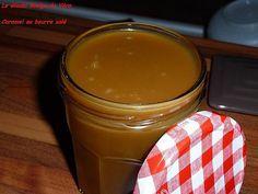 Caramel au beurre salé  Voici une recette qui m'a été donné par des bretonnes lors d'une soirée anniversaire. Un vrai régal pour les gourmands !!!