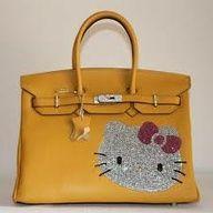 474157fe533 Hermes bags and Hermes handbags Hermes Birkin Hello Kitty Togo Leather Bag  Yellow 322