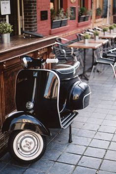 Vespa / photo by Millie Clinton