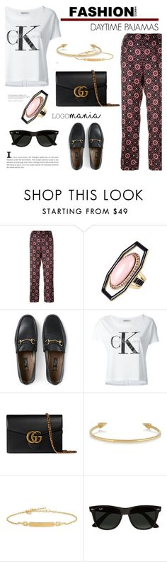 """""""Daytime pajamas"""" by cly88 ❤ liked on Polyvore featuring F.R.S. For Restless Sleepers, Etro, Gucci, Calvin Klein Jeans, IaM by Ileana Makri, Maria Black, Ray-Ban, TrickyTrend and daytimepajamas"""