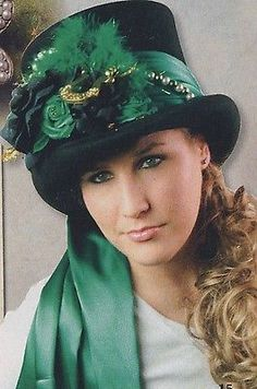 Irish Food Traditions And History – St. St Patrick's Day Costumes, Wicked Costumes, Costume Hats, Costumes For Women, Costume Ideas, St Paddys Day, St Patricks Day, Felt Hat, Wool Felt