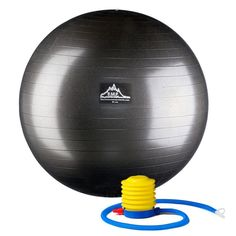 Black Mountain Products Anti-Burst 2000 lbs. Static Professional Grade Stability Ball Purple - PSPURP65CM