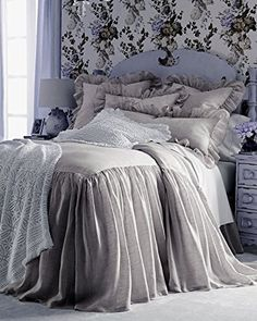 Pine Cone Hill King Savannah Skirted Coverlet, x with drop Queen Savannah Skirted Coverlet, x with drop Twin Savannah Coverlet, x with drop