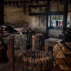 fantasy blacksmith shop - Google Search