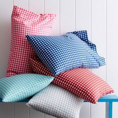 Gingham Percale Kids Sheets & Bedding Set | The Company Store