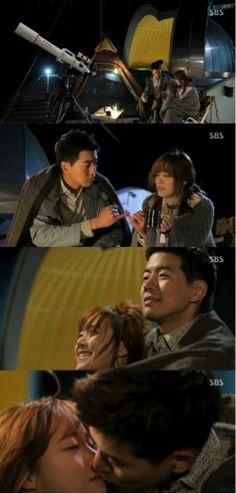"""'Angel Eyes"""" Lee Sang Yoon Kisses Koo Hae Sun"""