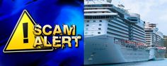 Recurring cruise scams and how to avoid them.  #cruise #scams