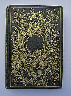 O beautiful antique book cover...