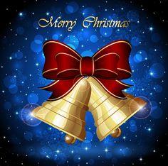 Beautiful Christmas bells illustration design – vector graphics