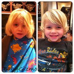 Love this little boys hair.