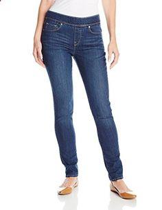 Levi's Women's Perfectly Slimming Pull On Jean Legging, Indigo Drift, 16 Medium  Go to the website to read more description.