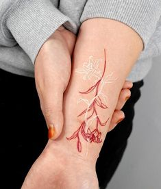 Red Tattoos, Dainty Tattoos, Little Tattoos, Pretty Tattoos, Mini Tattoos, Unique Tattoos, Cute Tattoos, Beautiful Tattoos, Body Art Tattoos