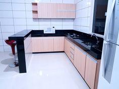 Achei Kitchen Room Design, Kitchen Cabinet Design, Kitchen Interior, Kitchen Decor, Living Room Corner Furniture, Bedroom Bed Design, Kitchen Views, Diy Kitchen Storage, Modern Kitchen Cabinets