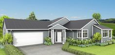 The Riverton is a roomy country-style home that boasts 2.7m high ceilings that add to the feeling of space and light in this home.  With colonial detailing and verandah, this weatherboard home also features a 3-way bathroom and easy flow between family, dining and living areas.