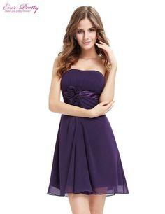 Women Clothing Dresses Alisa Pan HE03538 Black Flowers Strapless Chiffon Padded Dress