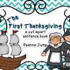 Enjoy this cut a sentence book as my I'm Thankful for you gift! Just staple blank copy paper to the cover and complete one or two pages a day as yo...