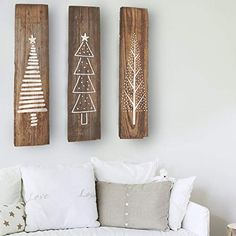 Christmas Tree Set of 3 Stencils for Wood Signs christmas clapback, christmas decor diy ideas xmas, christmas festive Christmas Tree Stencil, Christmas Tree Set, Natural Christmas, Christmas Wood, Simple Christmas, Christmas Holidays, Christmas Crafts, Diy Christmas Home Decor, Christmas Signs