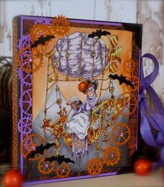 Synnøves Papirverksted: Fargeutfordring hos Sketchy Colors, Halloween