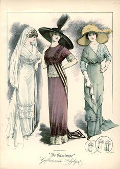 [De Gracieuse] Bruiloftstoiletten (December 1911)