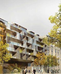 Logements quai Henri IV – Paris IV ECDM