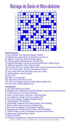Gazette mots crois s pour la rubrique jeux le forum - Construire une grille de mots croises ...