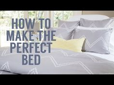 How to Make the Perfect Bed | Rue