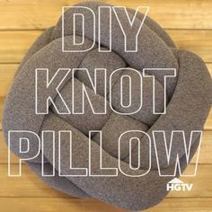 Turn a pair of tights into a super cute pillow!