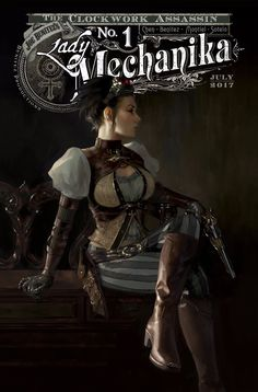 ArtStation - Lady Mechanika Yesteryear Variant, Miguel Mercado