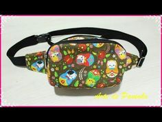 Money Belt, Patchwork Tutorial, Waist Pouch, Fabric Purses, Hip Bag, Bag Organization, Sewing Patterns Free, Handmade Bags, Small Bags