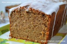 Pain d'epices gourmand, le top Alsace, Vanilla Cake, Brown Sugar, Biscuits, Banana Bread, Gingerbread, Muffins, Cooking Recipes, Cooking Chef