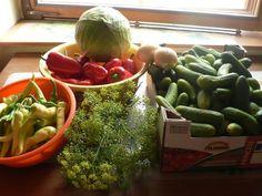 VELMI DOBRÝ LÁK NA OKURKY A NA VŠE CO JE SLADKOKYSELÉ 20 Min, Watermelon, Veggies, Food And Drink, Fruit, Lak, Vegetable Recipes, Vegetables