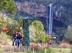 Brasil: Cable Car to the Caracol Waterfall
